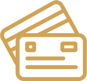 Icon of two credit cards